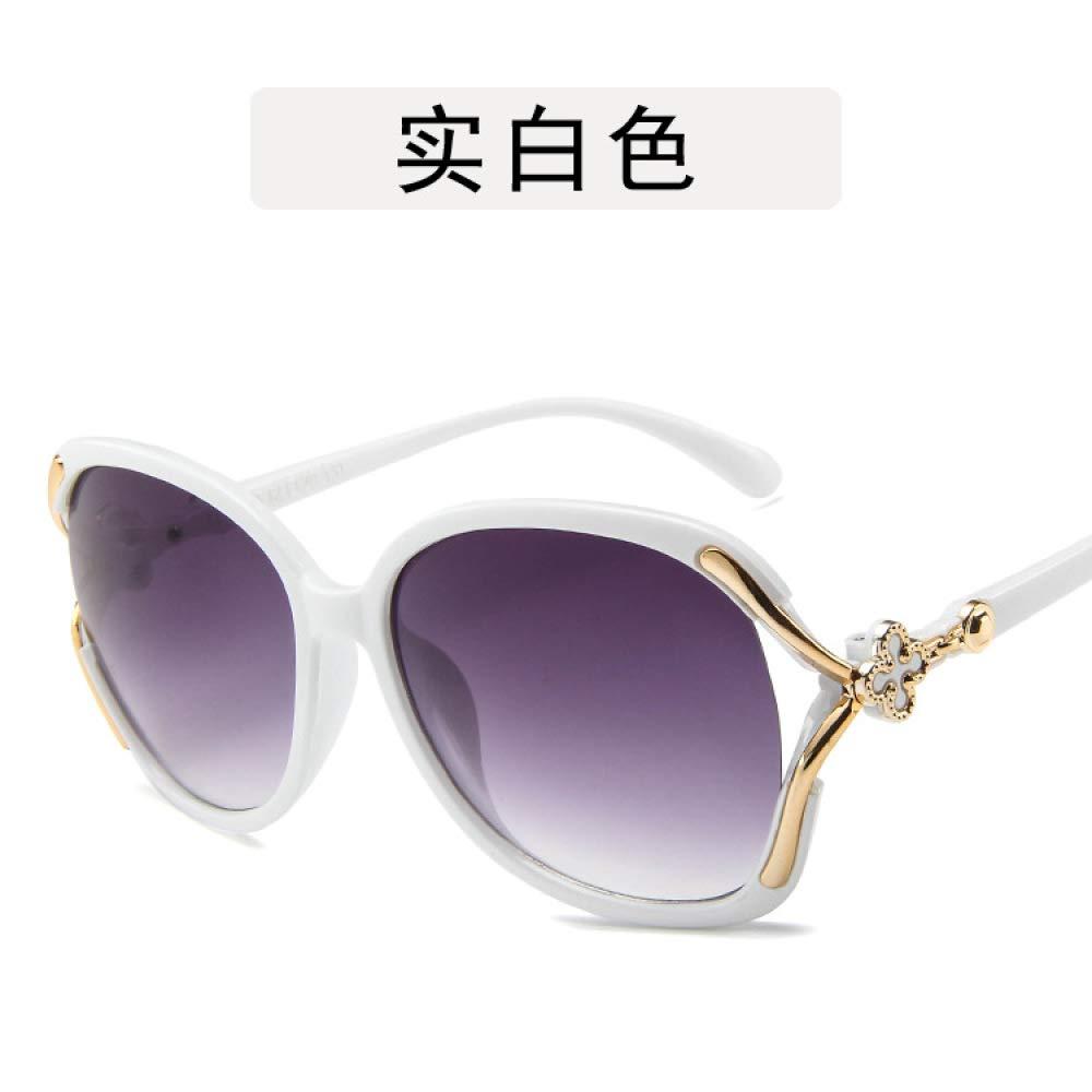 Yangjing-hl Gafas de Sol para Hombres y Mujeres Big Box Wild ...