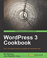 WordPress 3 Cookbook Front Cover