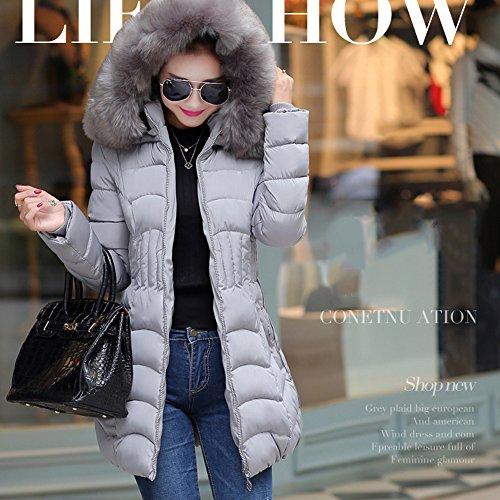 LOCOMO Tops (Luxury) - Abrigo - para mujer gris