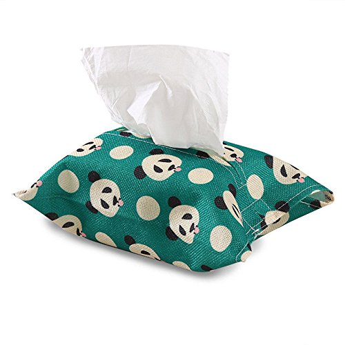VIPASNAM-1PC Cartoon Animal Cotton Tissue Box