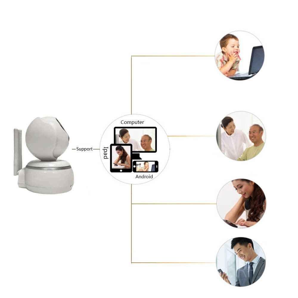 Indoor Baby Monitor Heim Home Security Überwachungskamera,WiFi IP Sicherheits kamera,Alarm Informationen für MacBook und Windows PC,iOS/Android -weiß,Auto-Alarmanlagen ip-kamera,QR Scanmail,die mobile Benachrichtigung,Remote-Wiedergabe,IR Nachtsicht,pet monitor Überwachungskamera,Webcams Mikrofone Überwachungskameras
