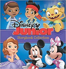 Disney Junior Storybook Collection Book Group Art Team 9781423178750 Amazon Books