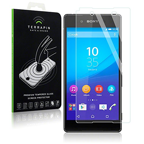 Sony Xperia Z3+ Case, Terrapin [Tempered Glass] Screen Protector Case / Guard / Film / Cover for Sony Xperia Z3+