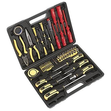 Bm Plus Siegen sealey s0613 tool kit 71pc amazon co uk diy tools
