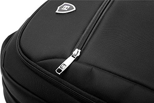 NIHE El bolso de hombro hombres de raza negra de 15 pulgadas de Corea estudiantes de secundaria bolso de la computadora bolsa de negocios bolsas de moda casual