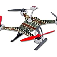 Skin For Blade 350 QX3 Drone – Cabin Stripes | MightySkins Protective, Durable, and Unique Vinyl Decal wrap cover | Easy To Apply, Remove, and Change Styles | Made in the USA