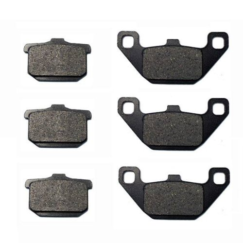 1985-1986 Kawasaki Eliminator 900 ZL900 Front & Rear Brake Pads