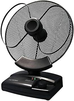 Metronic 426994 - Antena de interior orientable con ganancia 26 dB, negro