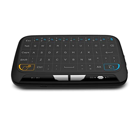 Rokoo M-H18 Pocket 2.4GHz Touchpad teclado inalámbrico con ratón completo para Android TV