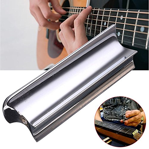 Dobro Slide Bar (Stainless Steel Slide Dobro Tone Bar For Electric Guitar Stringed Instrument)