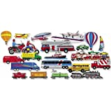 Little Folk Visuals Trucks Trains and Planes Felt Figures For Flannel Boards  Add on Pack LFV25709