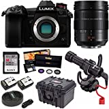 PANASONIC LUMIX G9 Mirrorless Camera with 12-60MM LUMIX G LEICA DG LENS and VideoMicro Bundle