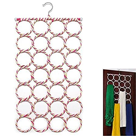 House of Quirk 28 Slot Scarf Hanger and Organizer