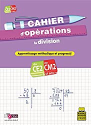 CAHIER D OPERATIONS DIVISION