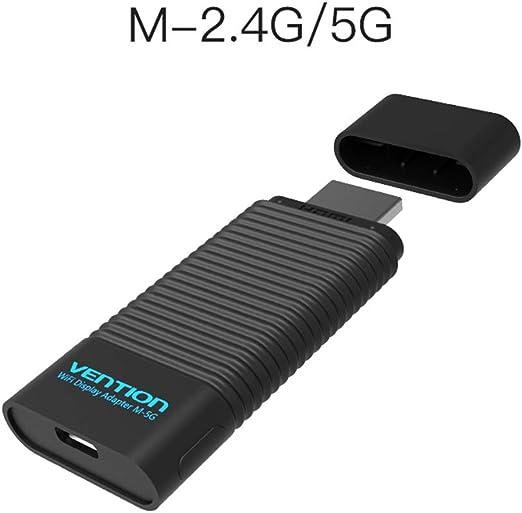AOEIUV EZCast 2.4 G/5G Receptor HDMI inalámbrico WiFi Pantalla dongle Adaptador 1080P Smart TV dongle Stick para Android iOS Windows,B: Amazon.es: Hogar