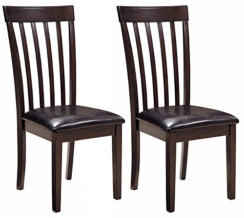 Ashley Furniture Signature Design - Hammis Dining Room Chair - Contemporary - Set of 2 - Dark - In Trends Latest Spectacles