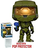 Funko Pop! Games: Halo - Master Chief with Cortana Vinyl Figure (Bundled with Pop Box Protector Case)