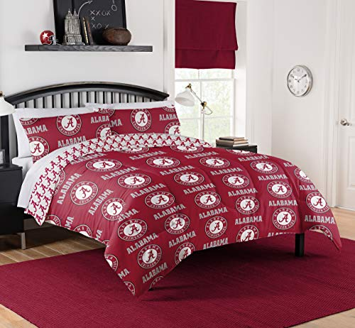 - Northwest NCAA Alabama Crimson Tide Queen Bed in Bag Set #897725352