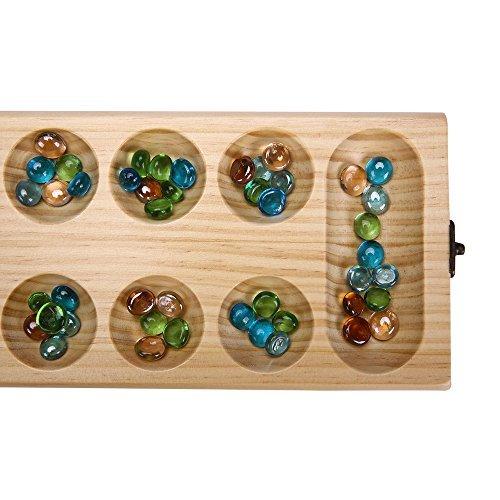 Comprar PlayMaty Madera Plegable Mancala Juego de Mesa Juego de Estrategia