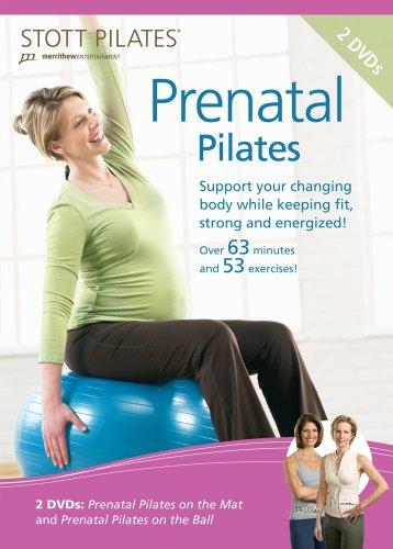 Prenatal Set - STOTT PILATES Prenatal Pilates DVD 2 DVD Set