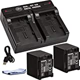 BM 2 BP-820 Batteries and Dual Battery Charger for