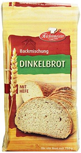 Bielmeier - Küchenmeister Brotbackmischung Dinkelbrot  15er Pack (15 x 500 g)