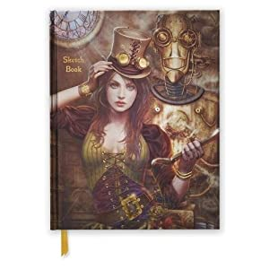 Steampunk (Blank Sketch Book) (Luxury Sketch Books)