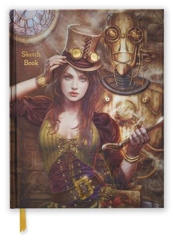 Steampunk (Blank Sketch Book) (Luxury Sketch Books) 3