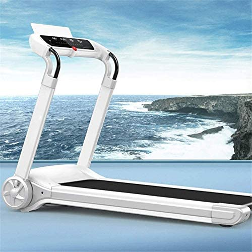 YFFSS Running Machines Folding Electric Portable Treadmill Low Noise Jogging Walking Running Machine Exercise Treadmill with Bluetooth Speaker for Home Gym Exercise Fitness 2