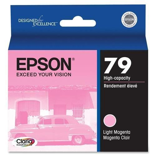 (Epson Ink Cartridge,for Stylus Photo 1400,810 Pg Yield,Lt Magenta (T079620))