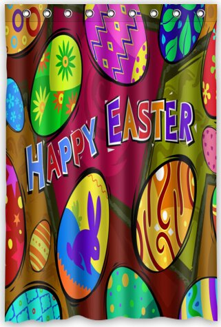 Amazon.com: Funny design Happy Easter Shower Curtain 48\