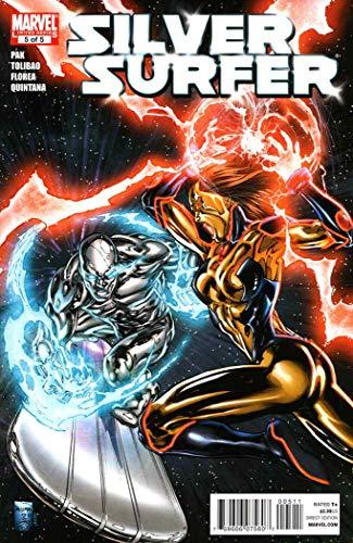 Silver Surfer (5th Series) #5 VF ; Marvel comic book