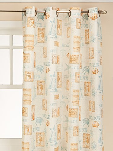 LORRAINE HOME FASHIONS 09113-63-00016 Green by The Sea Gromm