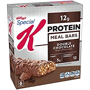 Kellogg's Special K Protein Meal Bars Double Chocolate, 9.5 oz