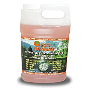 Eco Orange 1 Gallon Super Concentrate. Strongest All-Natural, All-Purpose Orange Citrus Cleaner. Makes up to 16 GALLONS after dilution. Non-Toxic, Allergy-Free, Eco-Friendly. Safe for Family, Pets.