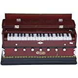 Harmonium, BINA No. 8, USA, 7 Stops, Rosewood Color, 3 1/4 Octaves, Coupler, Tuned To A440, Double Reed, Book, Nylon Bag, Musical Instrument Indian (PDI-AGD)