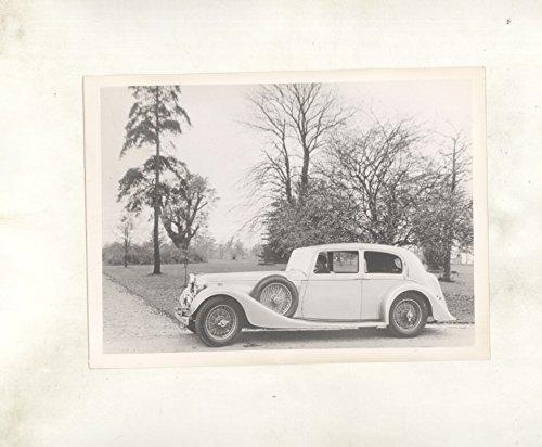 1937-alvis-43-vanden-plas-saloon-original-photograph