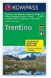 Trentino: Wanderkarten-Set in der Schutzhülle mit Radrouten, Skitouren und Reitwegen. GPS-genau. 1:50000 (KOMPASS-Wanderkarten, Band 683)