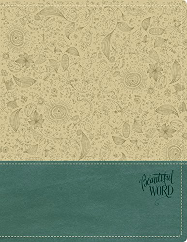 NKJV, Beautiful Word Bible, Leathersoft, Tan/Blue, Red Letter Edition: 500 Full-Color Illustrated Verses ebook