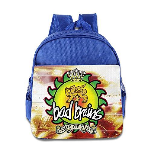 Price comparison product image Bad Brains God Of Love Kids School Backpack Bag RoyalBlue