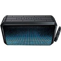Caixa De Som Isound - Bluetooth - Dura Waves Glow Xl - 6795 - Preta