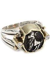 BORA Astrological Sign Flip Ring, Size 7