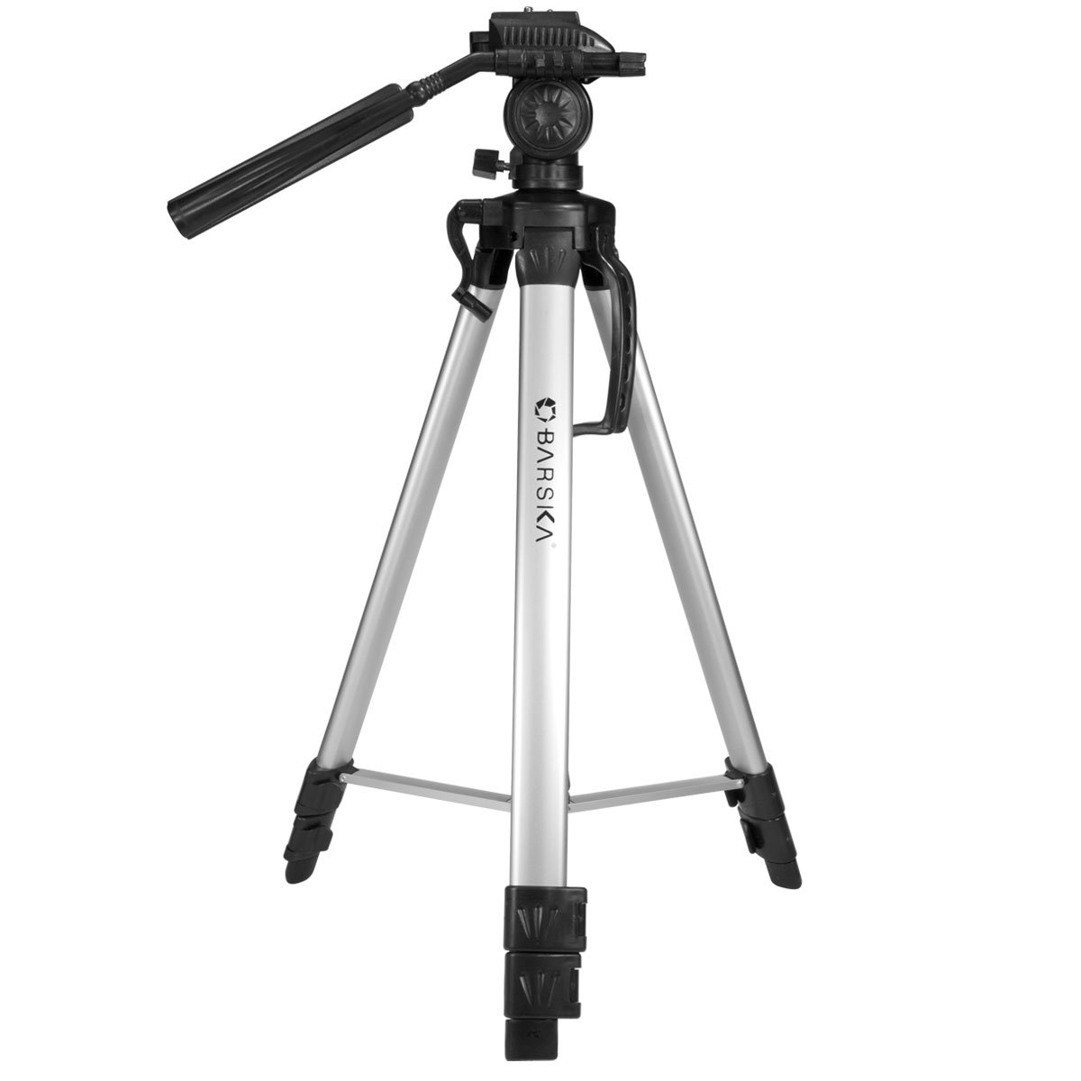 BARSKA Deluxe Tripod Extendable to 63.4'' w/Carrying Case by BARSKA