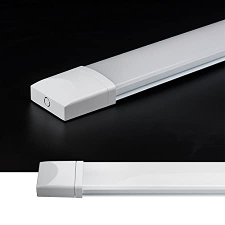 J&C 5X LED luz a Prueba de Humedad 60CM 18W, Tubo LED 1400lm ...
