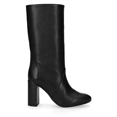Sacha Schuhe | Damen Hohe Stiefel | Lack | Farbe: Weiß