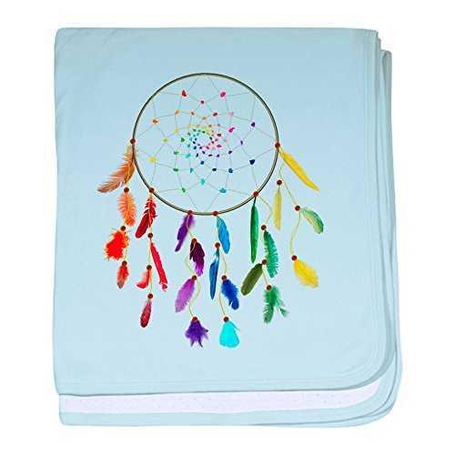 CafePress Rainbow DreamCatcher blanket Blanket