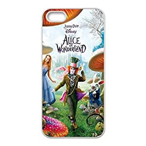 HDSAO Alice In Wonderland Case Cover For iPhone 5S Case