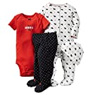 Carter's Baby Girls' 4 Piece Layette Set (Baby) - Scottie - 9M