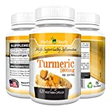 Turmeric / Tumeric Curcumin Capsule 1000mg per Serving – Organic and Natural (420 Capsules)