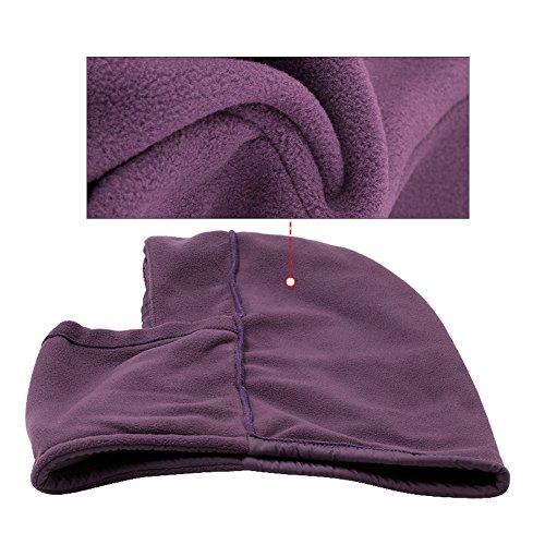 Punto Gorro para Hombre Balaclava purple Jonhen de F0qWpRpH